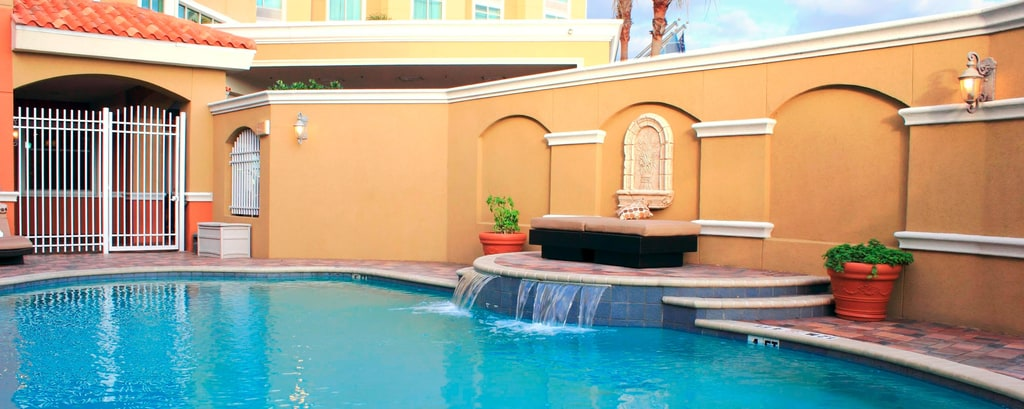Piscina al aire libre del St. Petersburg Marriott Clearwater