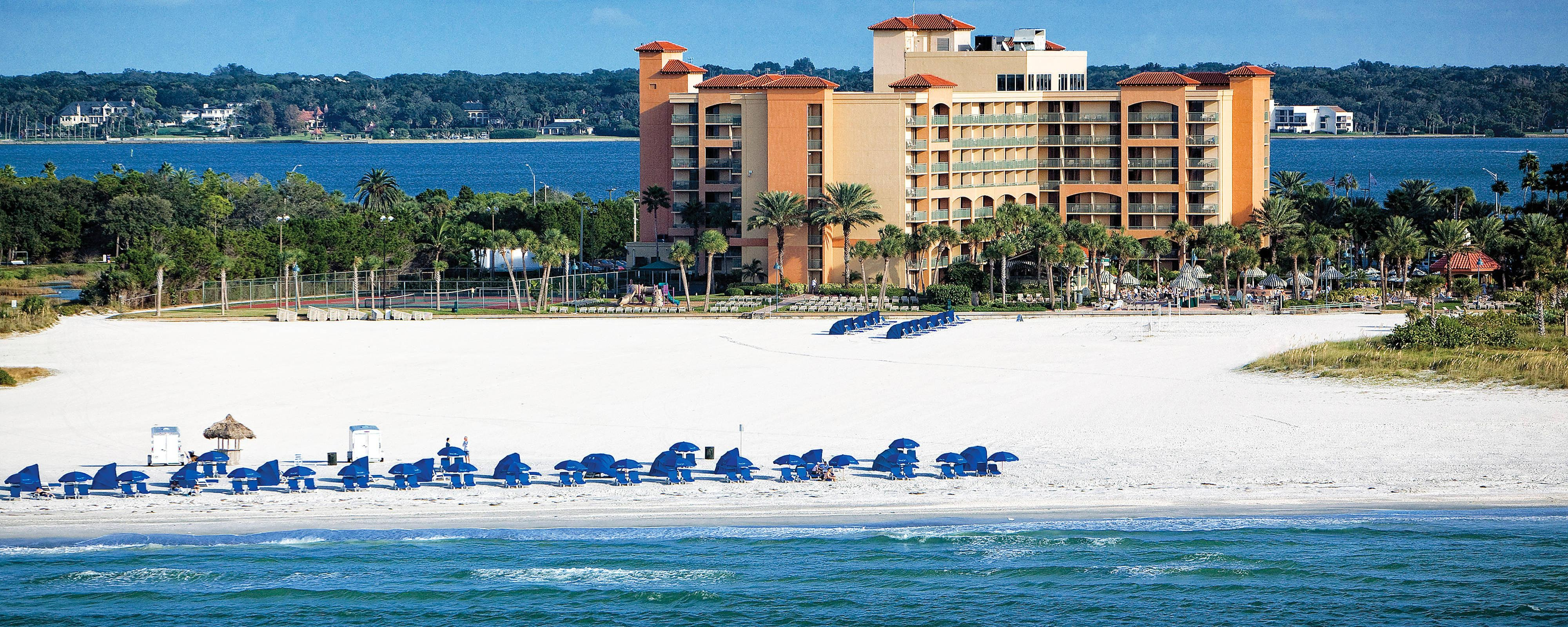Oceanfront Hotel in Clearwater Beach Florida  Sheraton