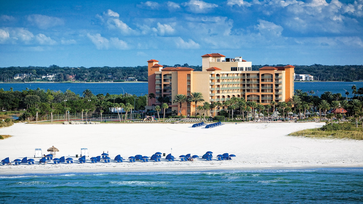 Oceanfront Hotel In Clearwater Beach Florida Sheraton Sand Key Resort