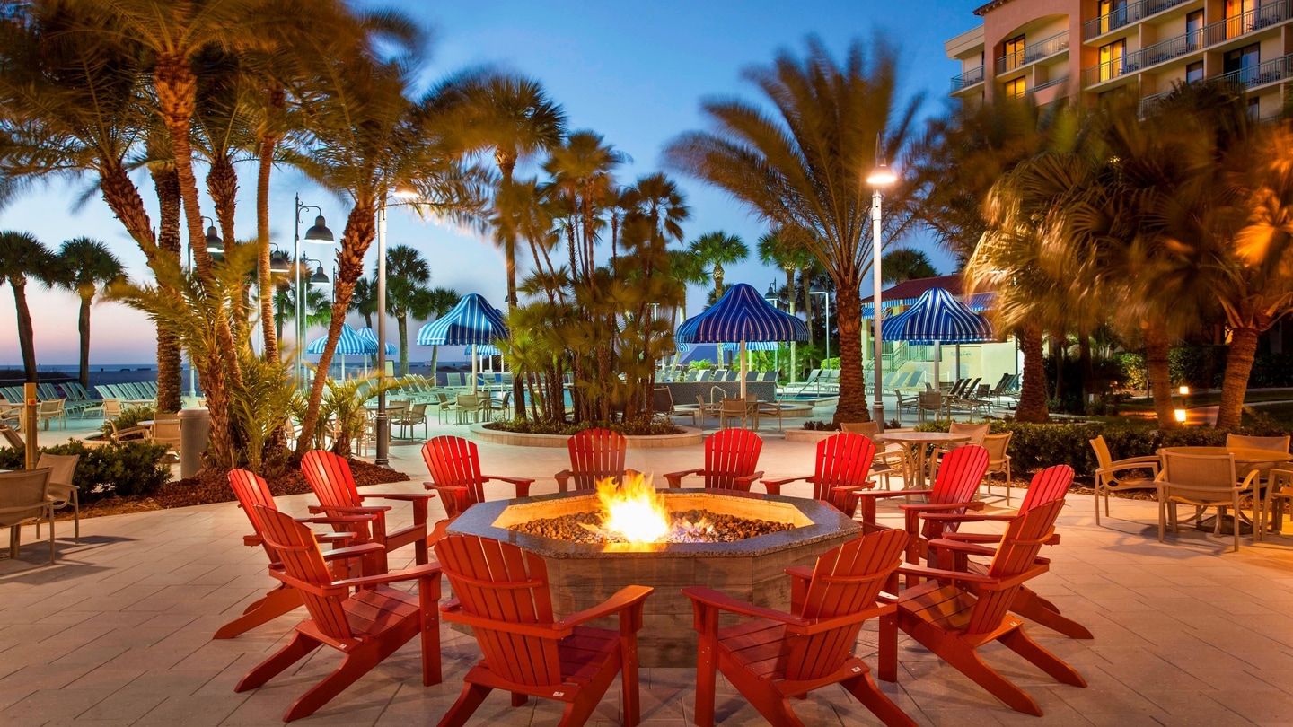 Oceanfront Hotel In Clearwater Beach, Florida
