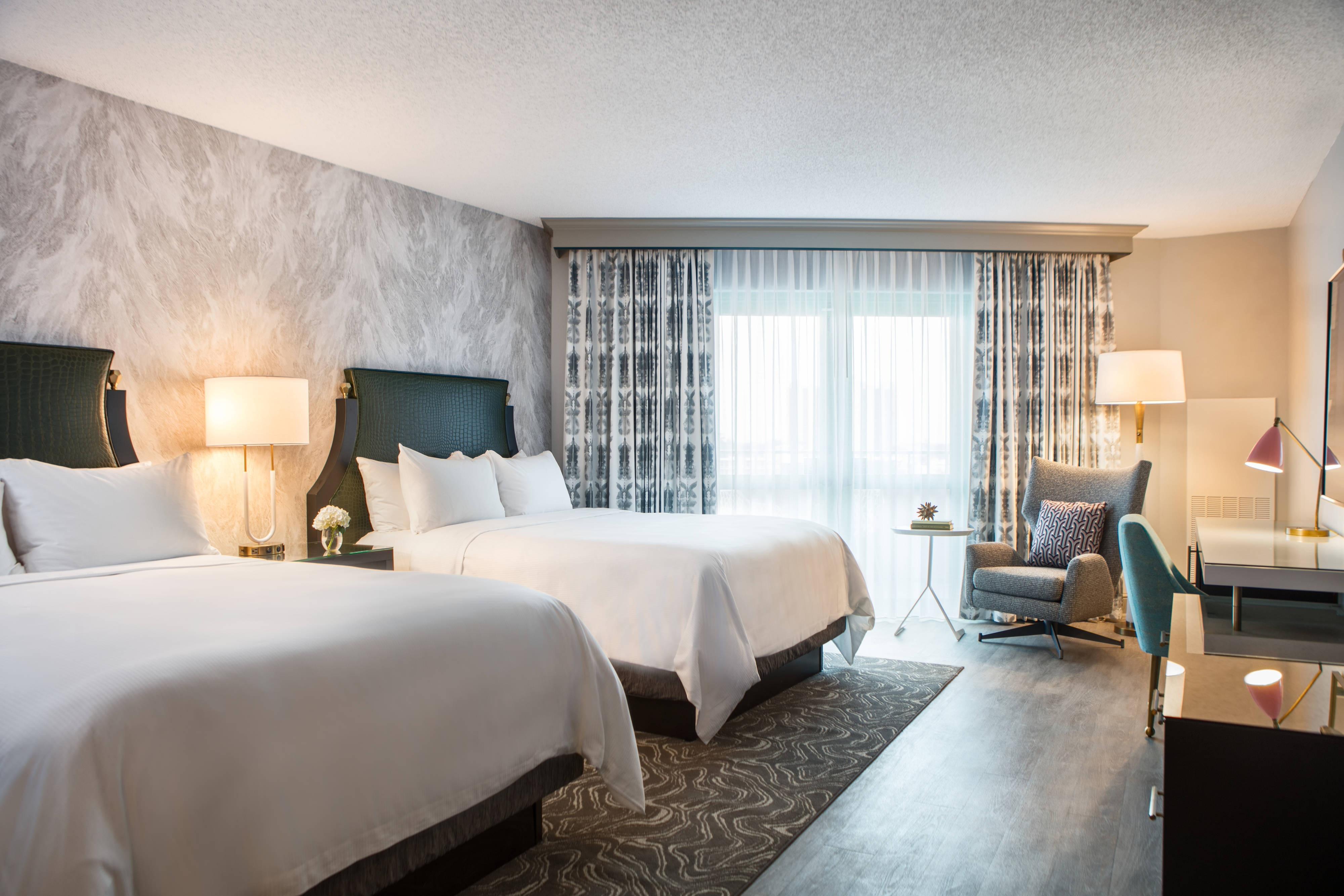 Queen/Queen Terrace Guest Room