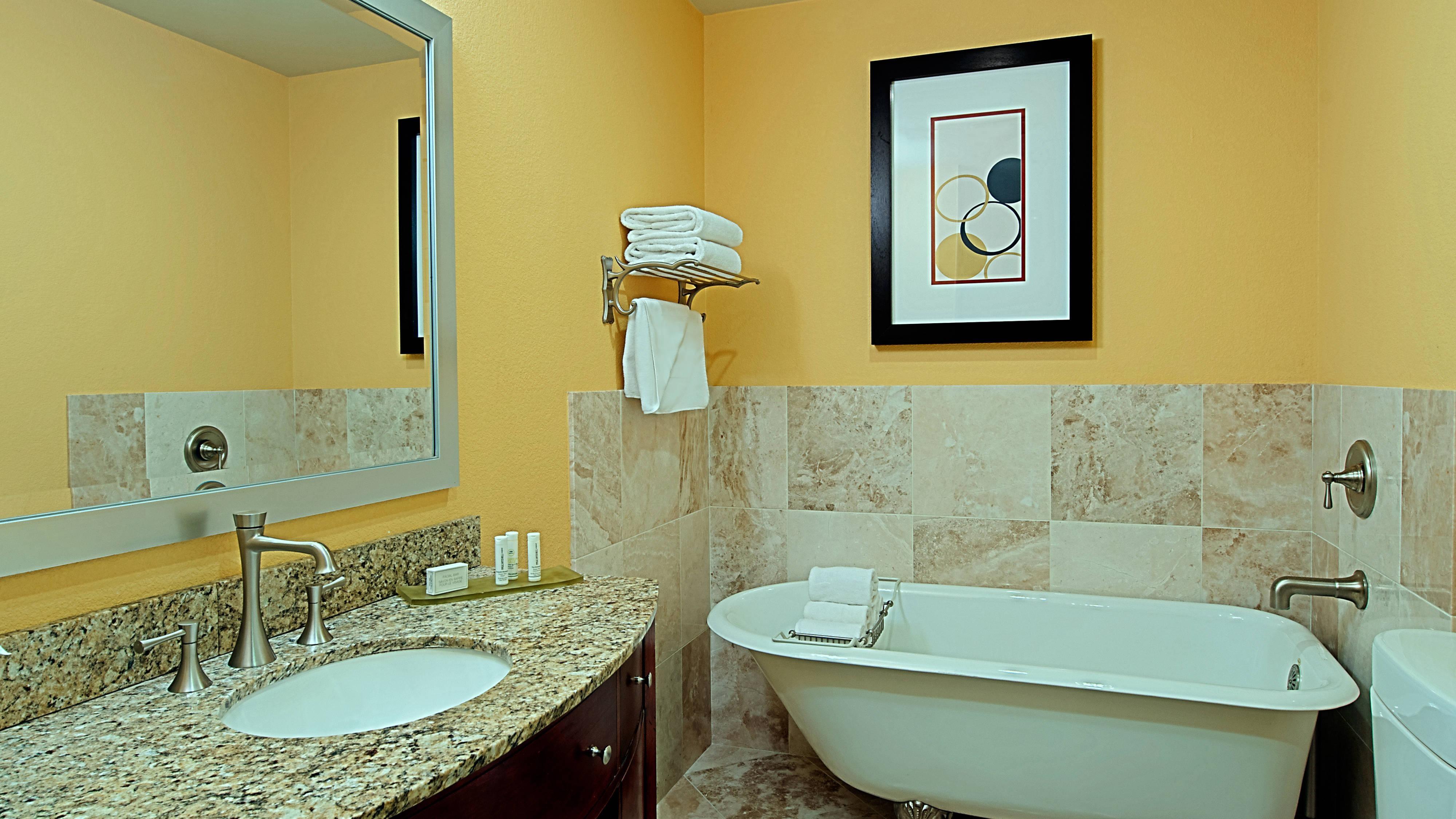 Baño de la suite de dos dormitorios