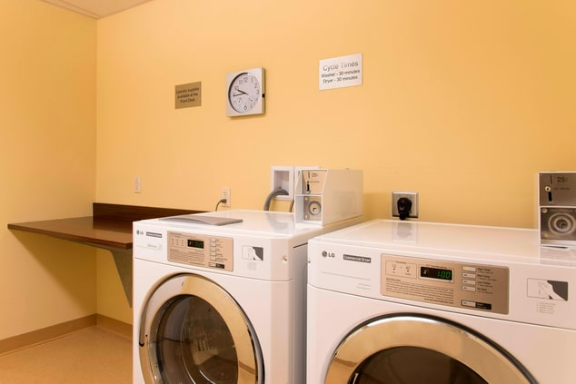 Guest Laundry Washer & Dryer