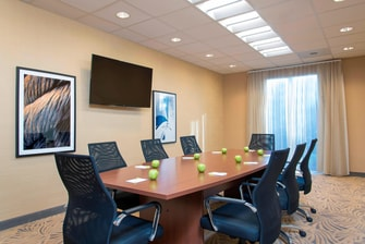 Meeting Room Boardroom Table Setup