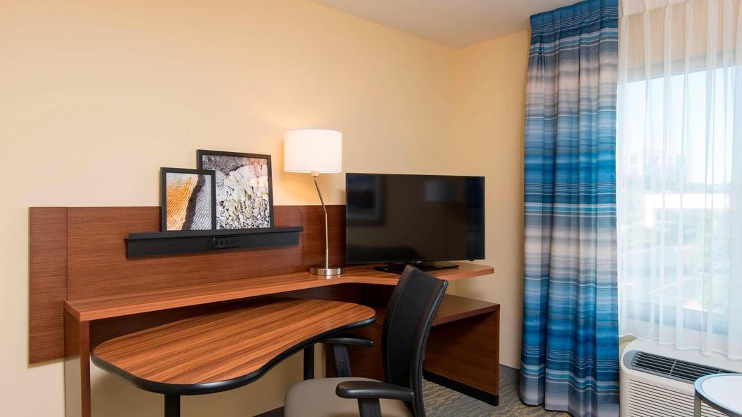 King Studio Suite Work Desk
