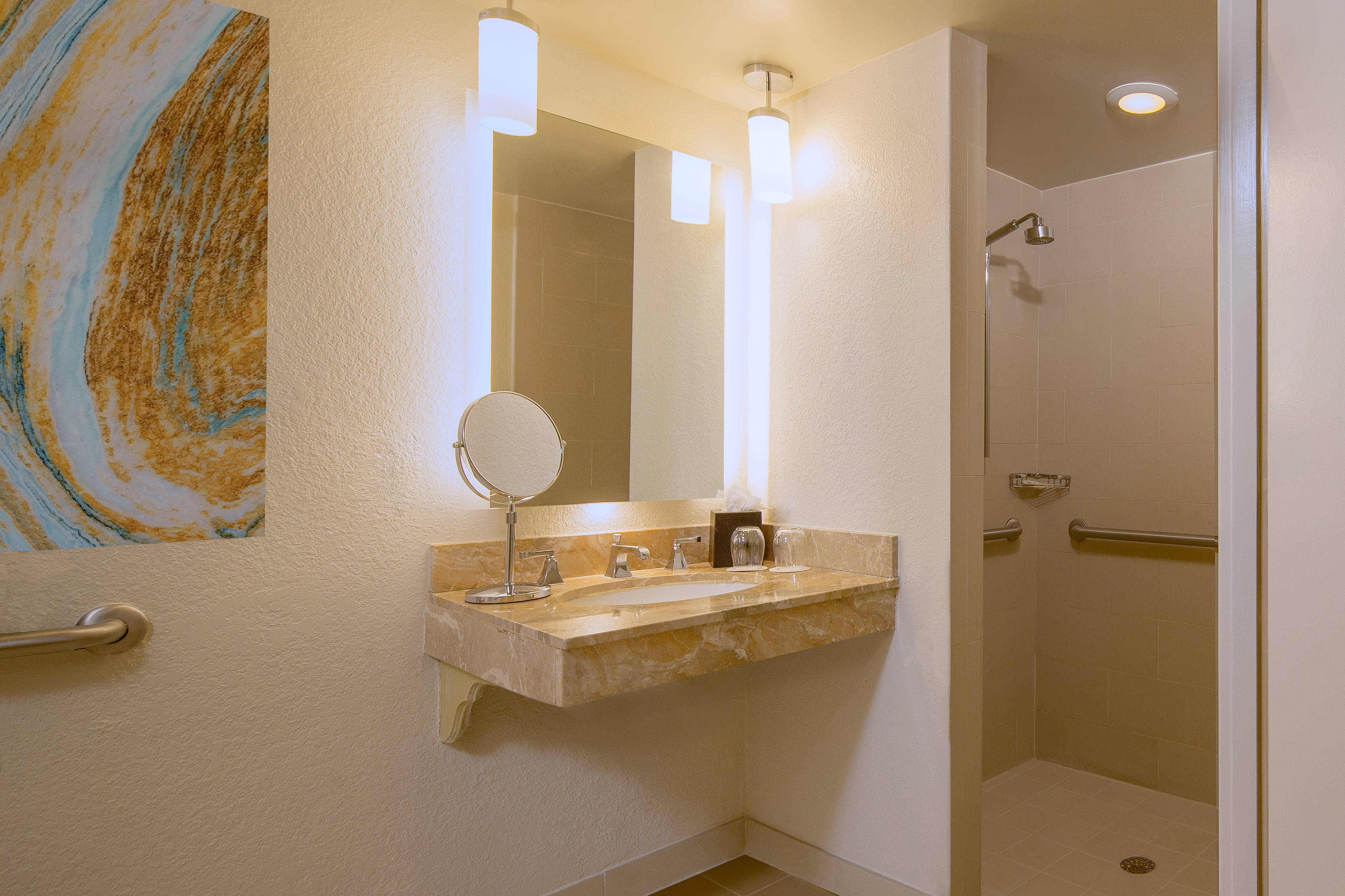 Accessible Guest Room Bath