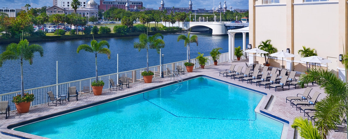 Outdoor Riverfront Pool