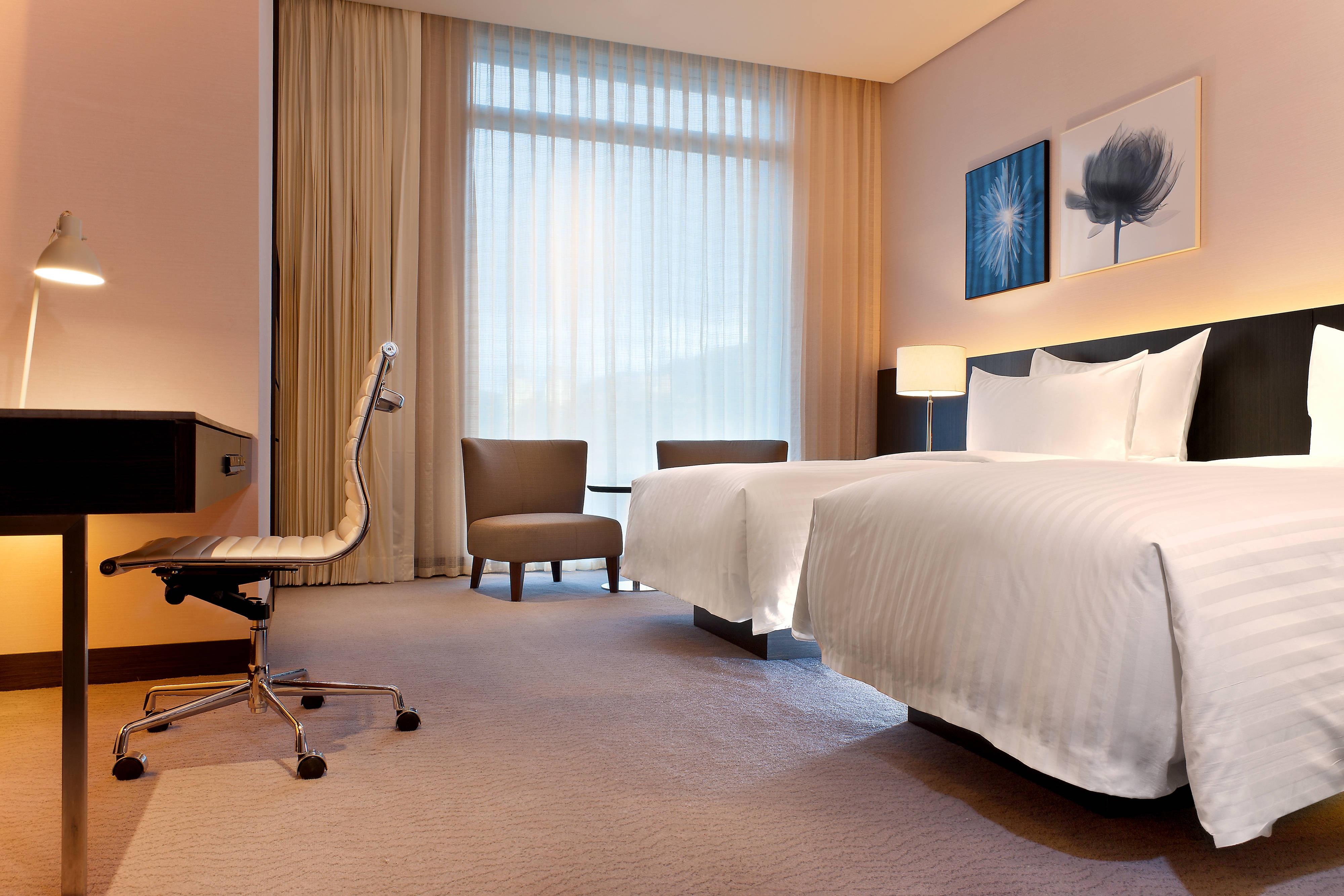 Deluxe Zimmer– Zwei Einzelbetten
