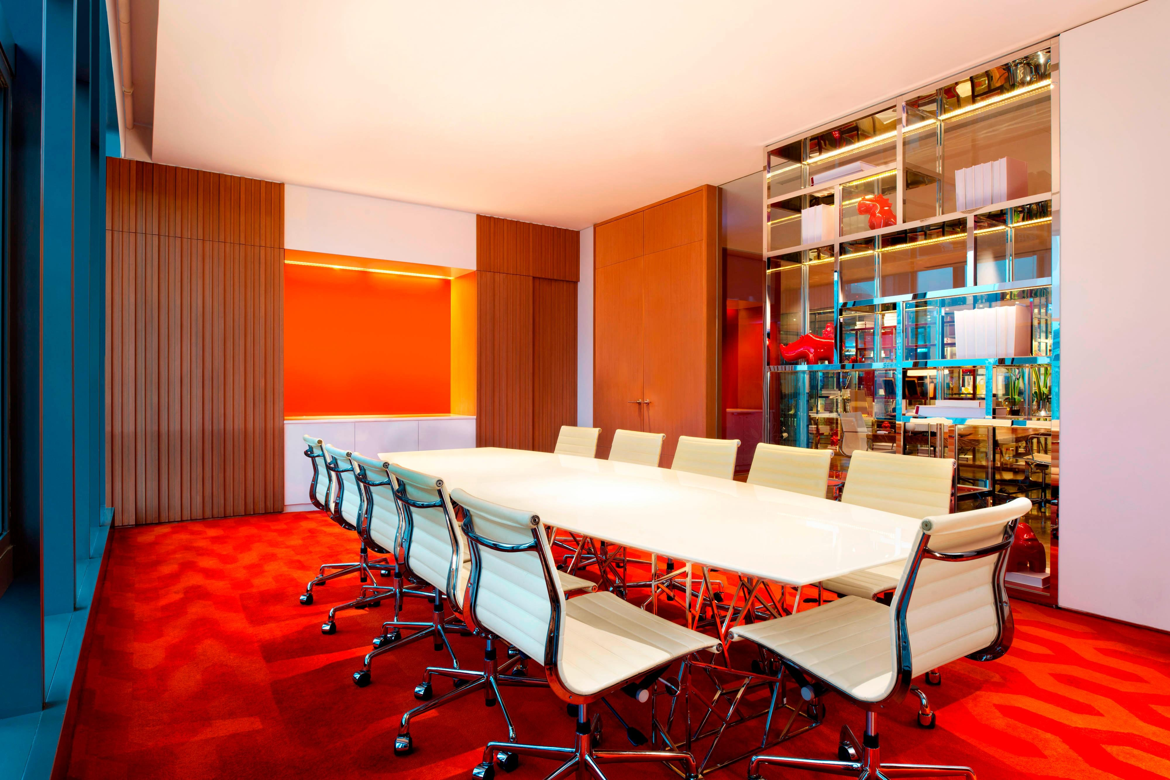 Wired Meeting Room
