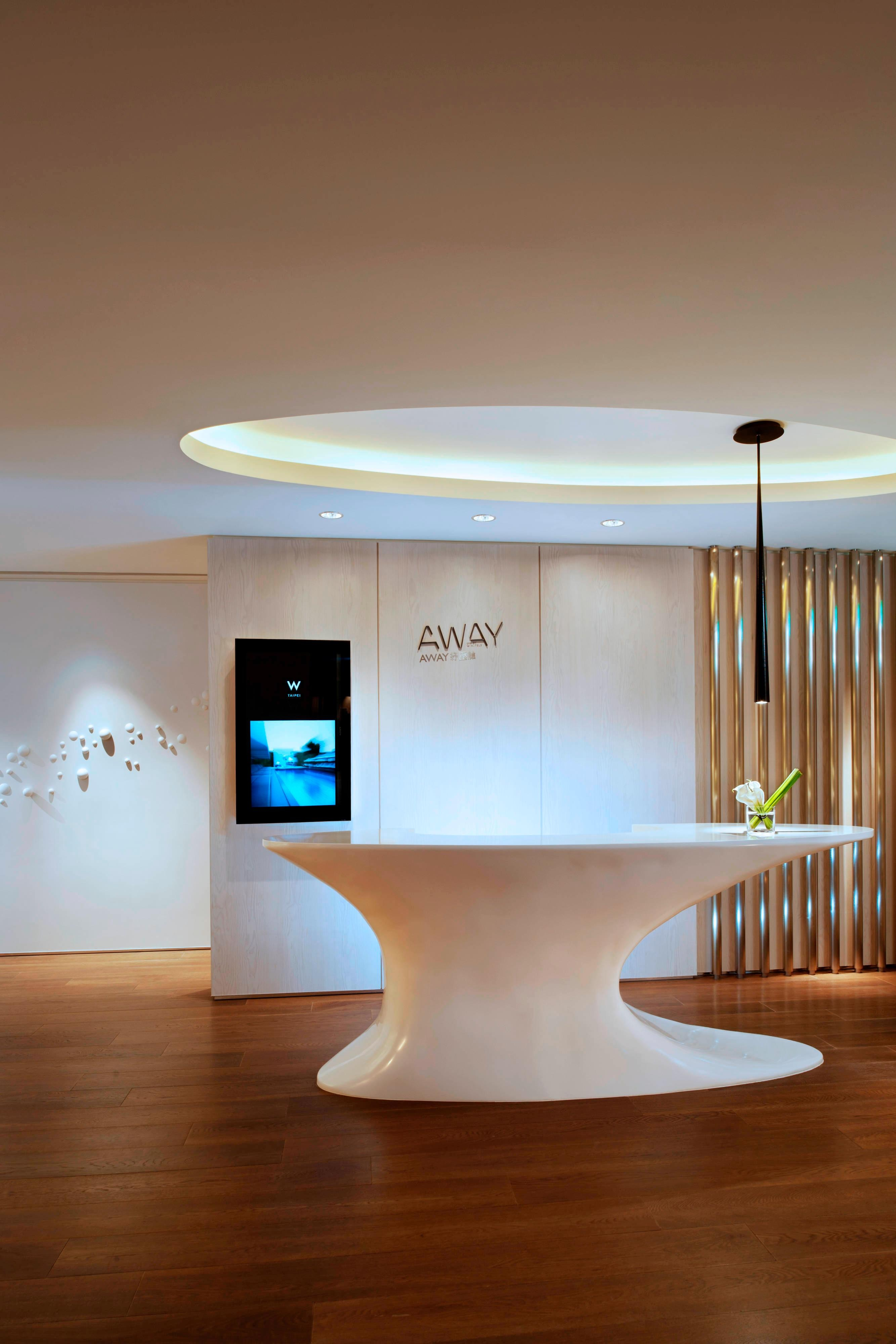 AWAY Spa―Reception