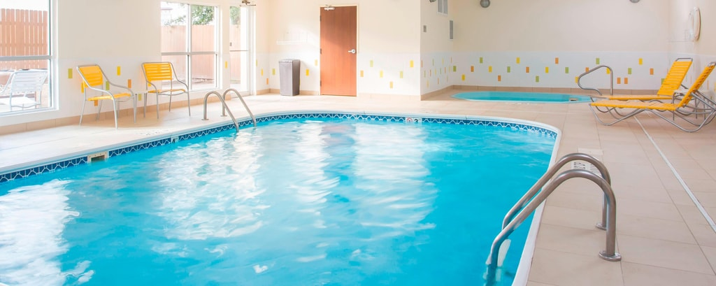 indoor pool and hot tub in temple tx fairfield inn suites temple belton