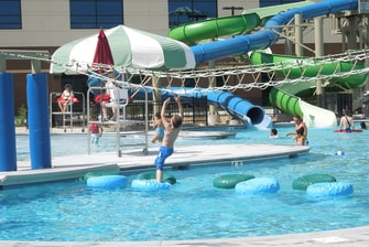 Kingsport Aquatic Center Water Slide
