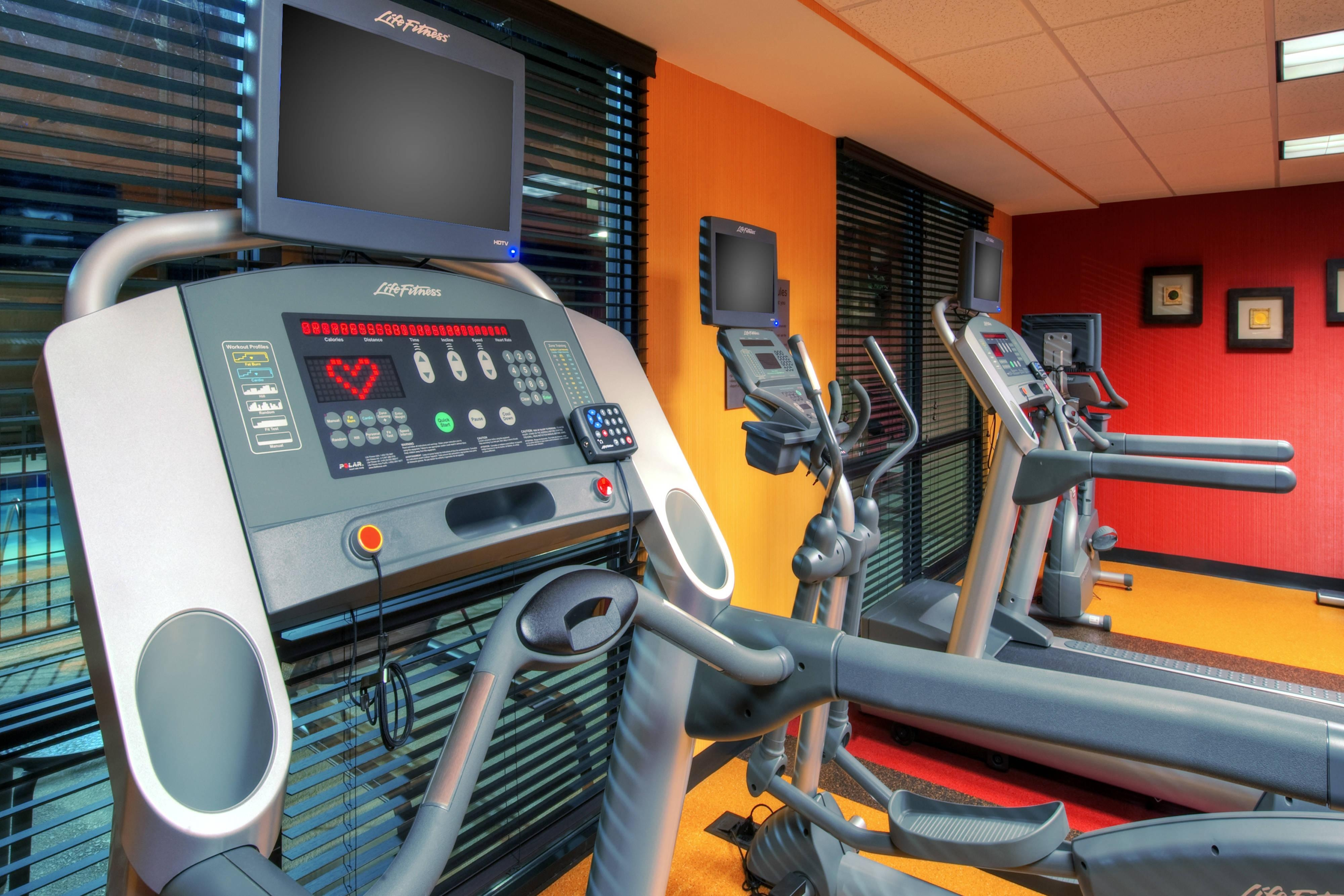 Fitness Center – Johnson City Courtyard