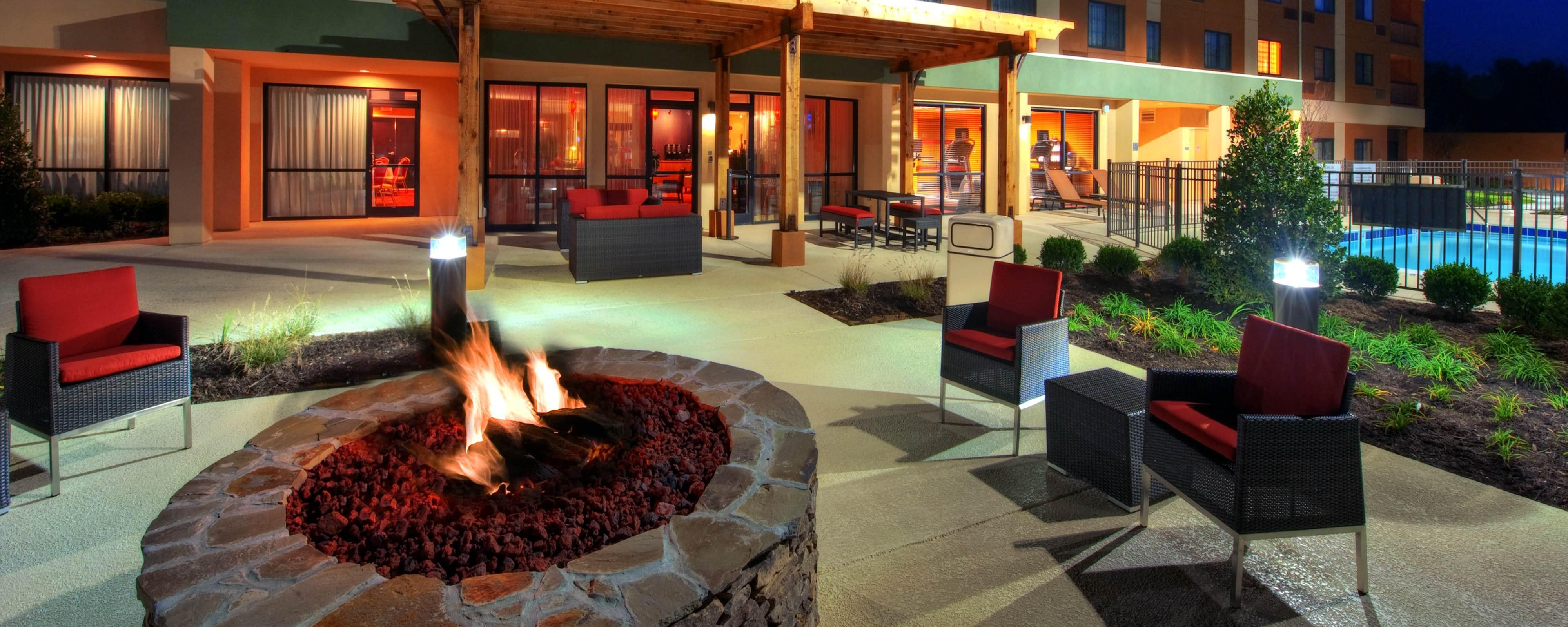 Fire Pit – Johnson City Courtyard