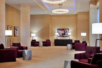 Фойе банкетного зала в отеле Марриотт Астана