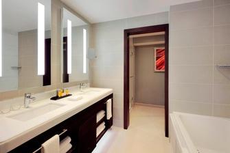 Ванная комната в отеле Астана Марриотт