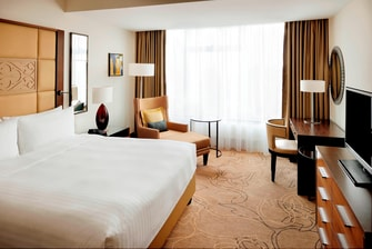Extended stay in Astana Marriott