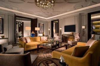 Гостиная президентского люкса