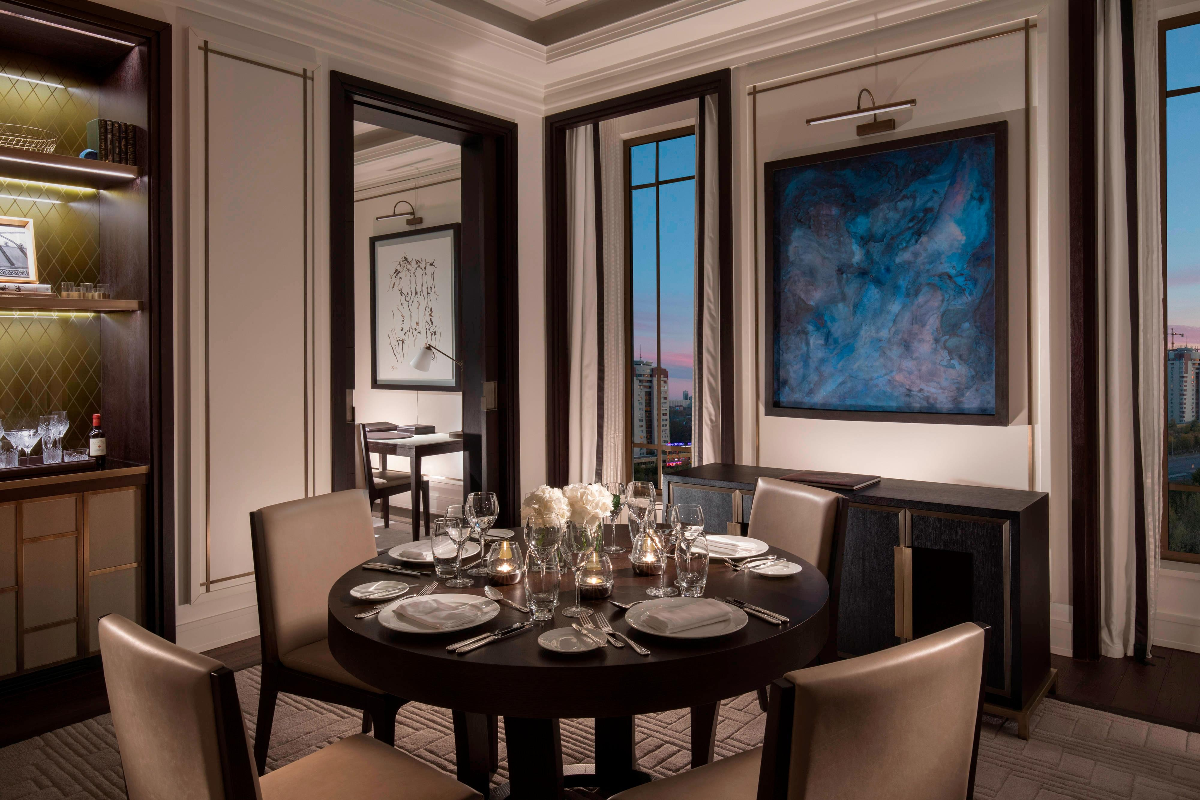 Royal Suite - Dining Room and Study