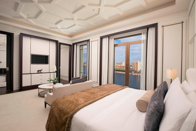 St. Regis Suite - Bedroom - View
