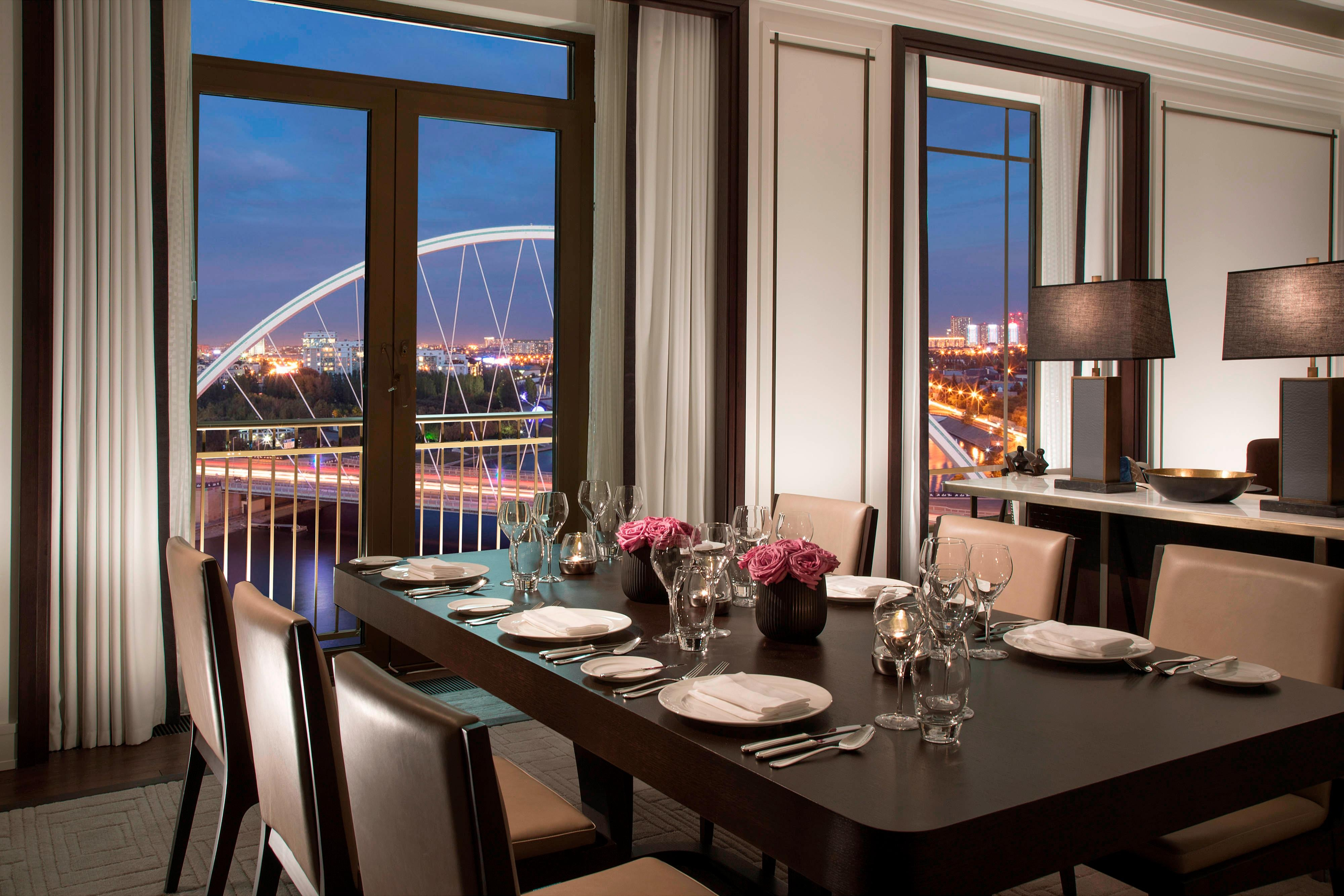 St. Regis Suite - Dining Room - View