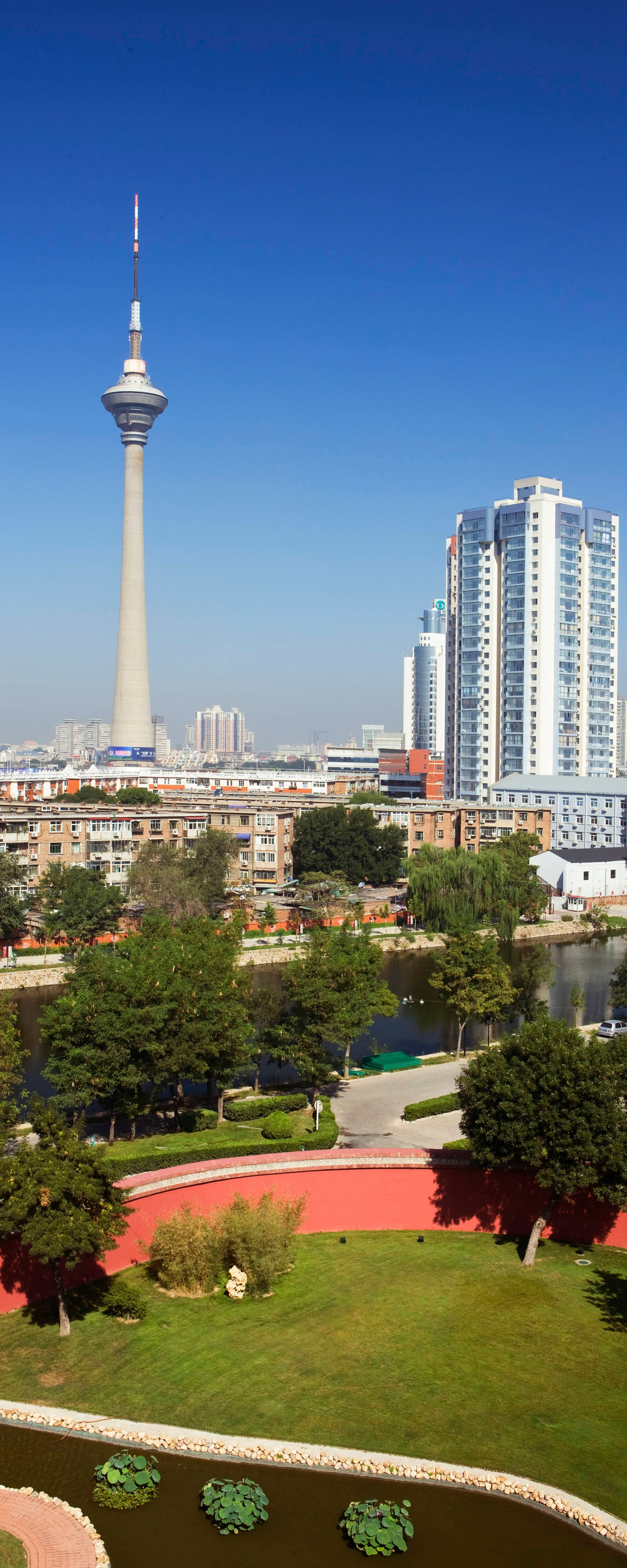 Tianjin City View from Hotel