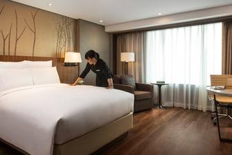 三卧室公寓式客房 - 卧室