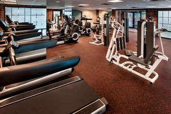 Princeton Hotel with fitness center