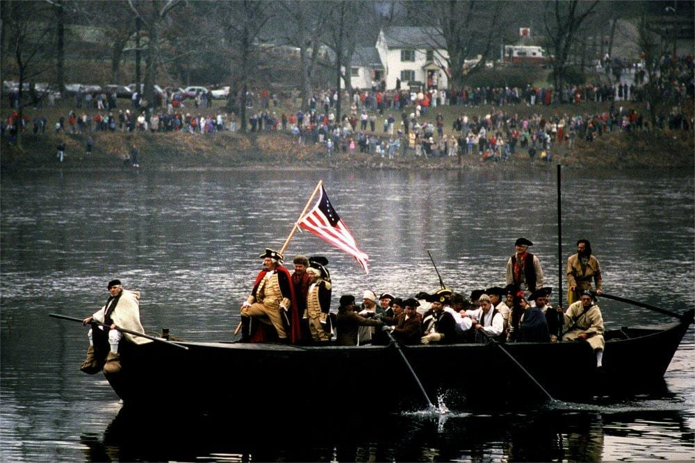 Washington Crossing, George Washington