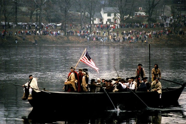Washington Crossing, George Washington