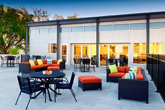 aloft Poolside terrace