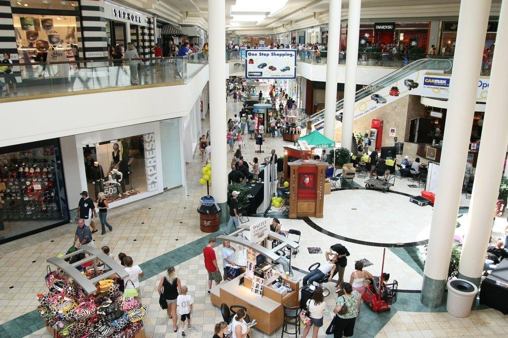 Woodland Hills Mall Tulsa Shopping