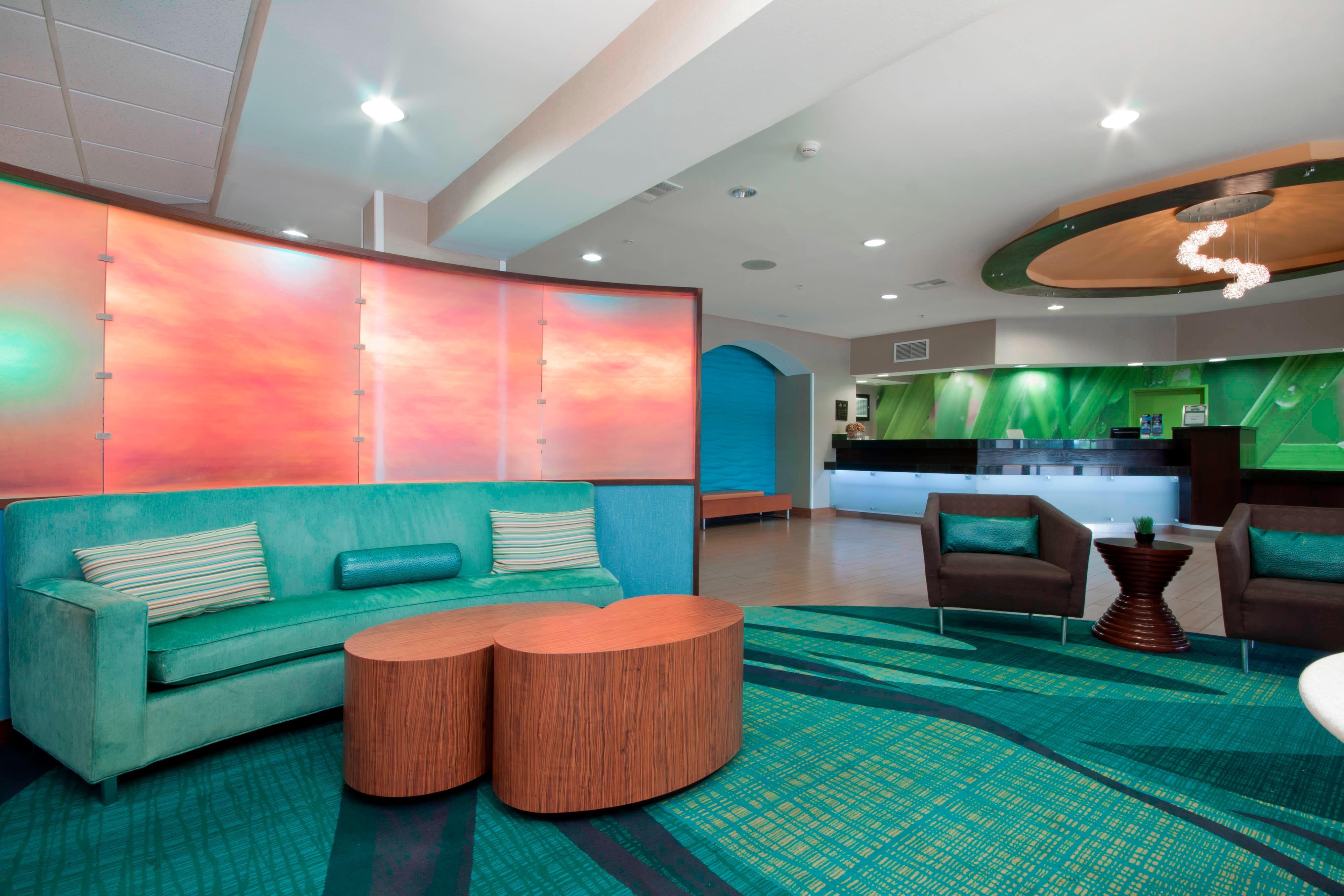 Tulsa Oklahoma Hotel Lobby Seating