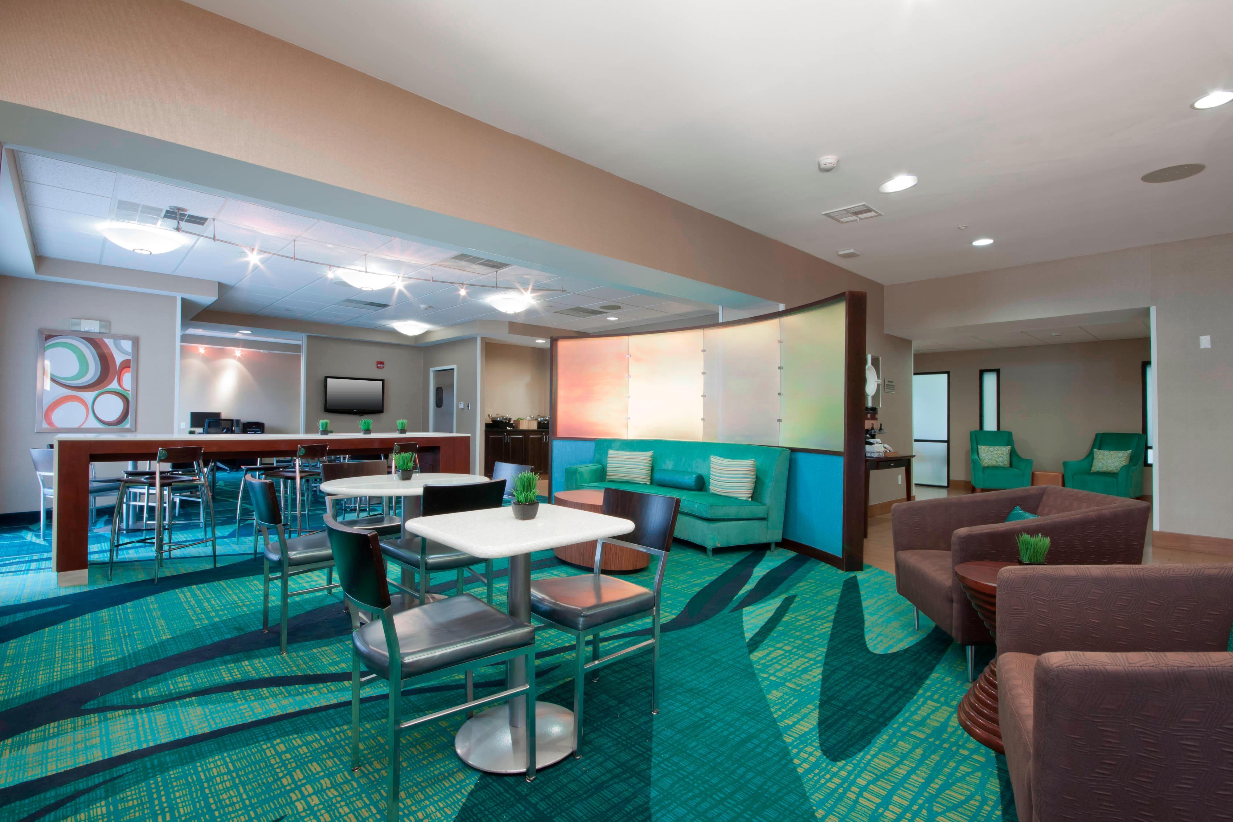 Tulsa Oklahoma Hotel Lobby Dining