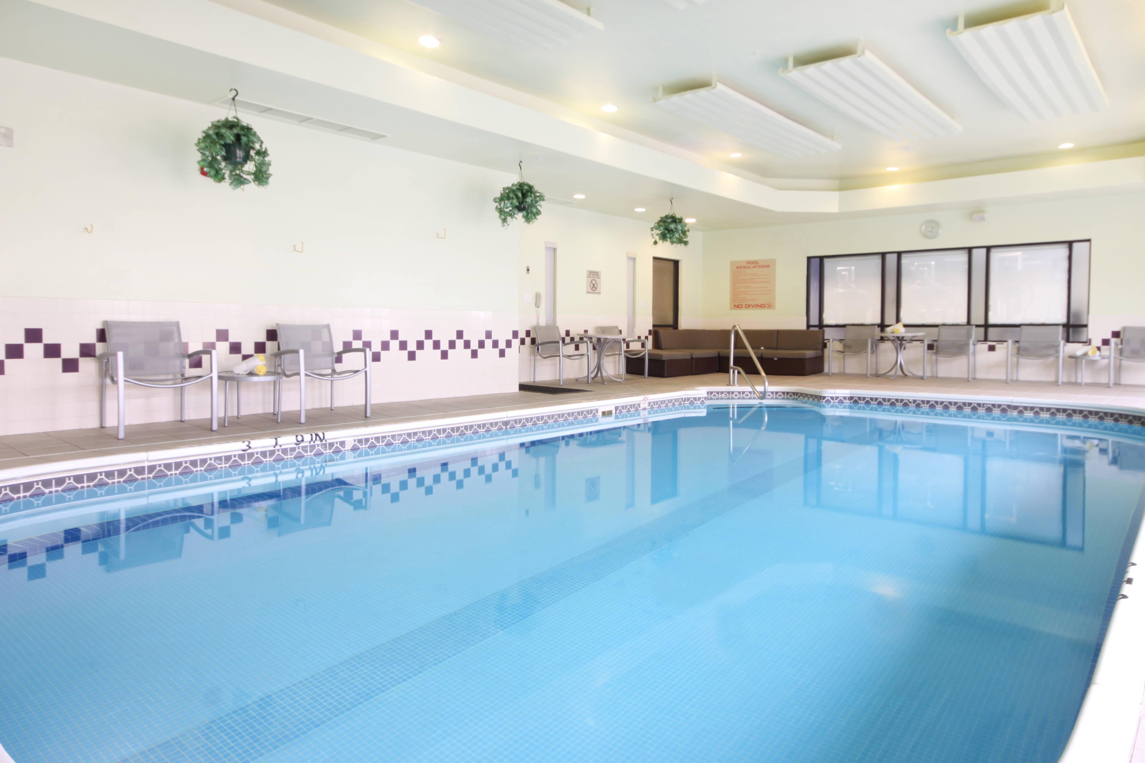 Tulsa OK hotel indoor pool