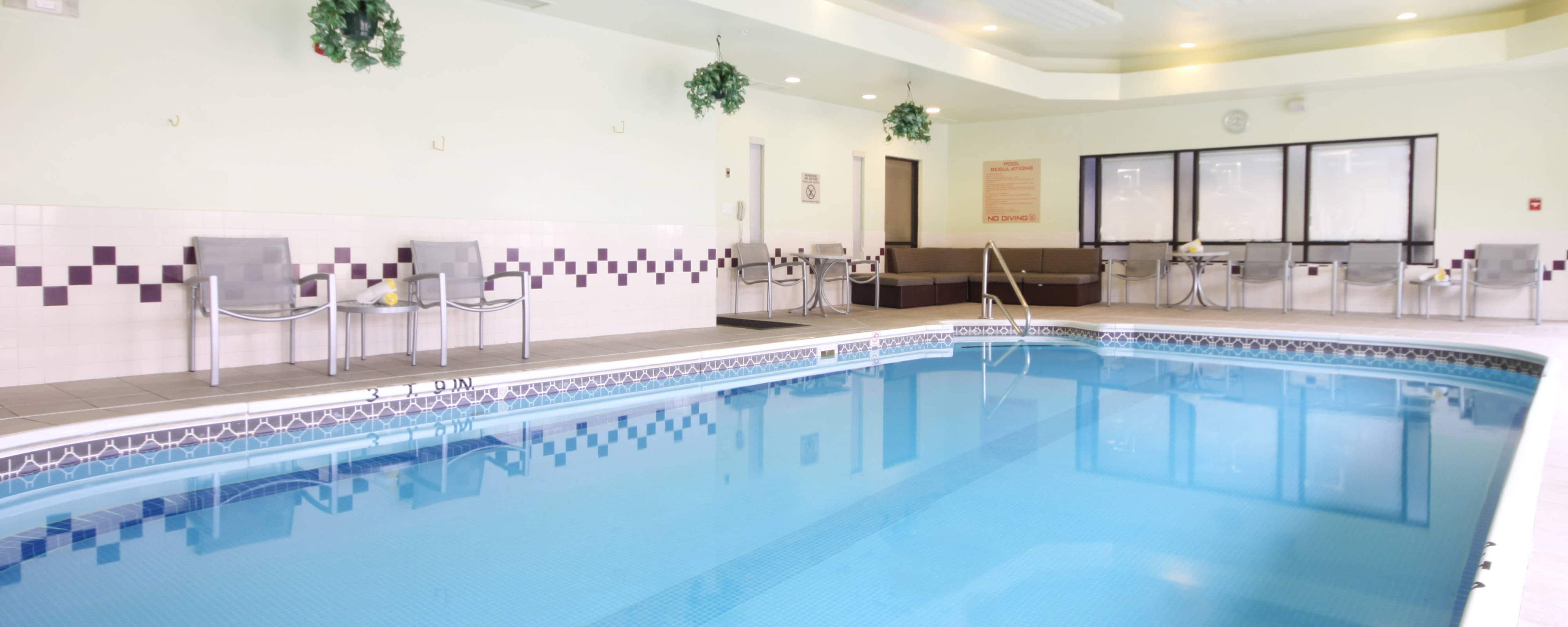 Tulsa OK hotel indoor pool