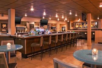 The popular Sports Bar