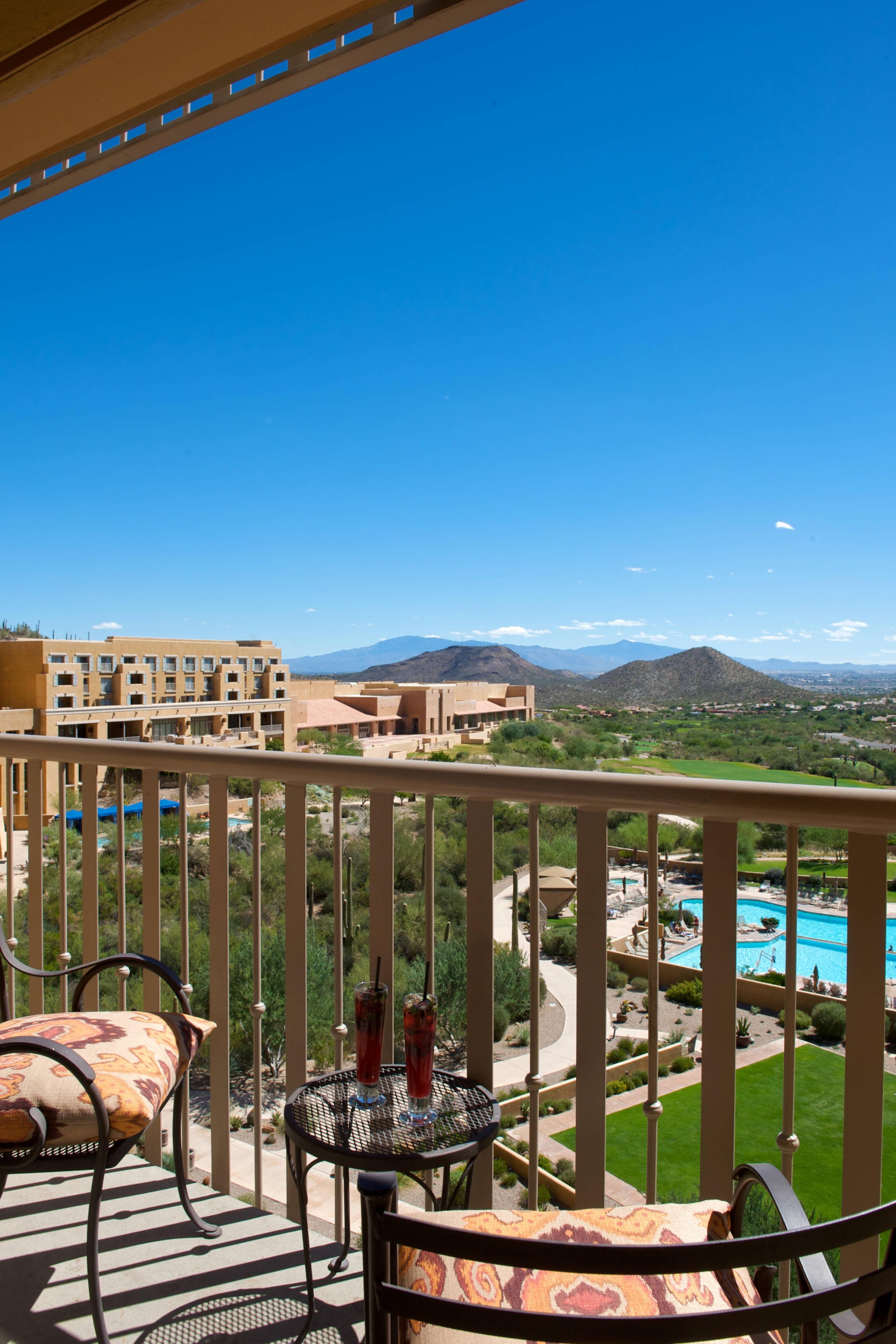 Balcony at JW Marriott Tucson