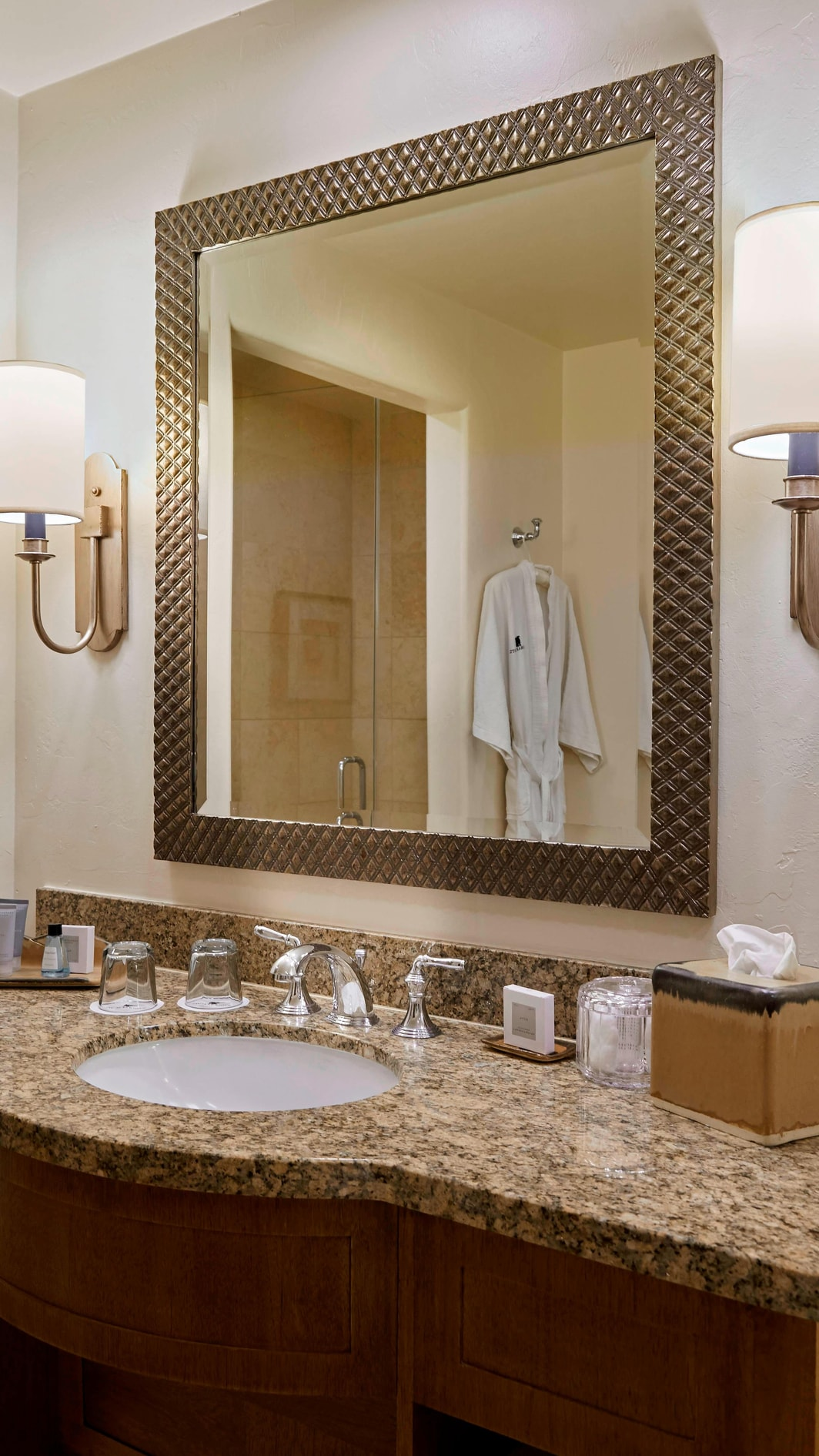 Bathroom at JW Marriott Tucson