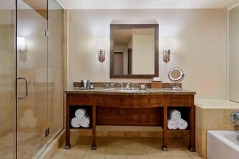 Bathroom at JW Marriot Tucson