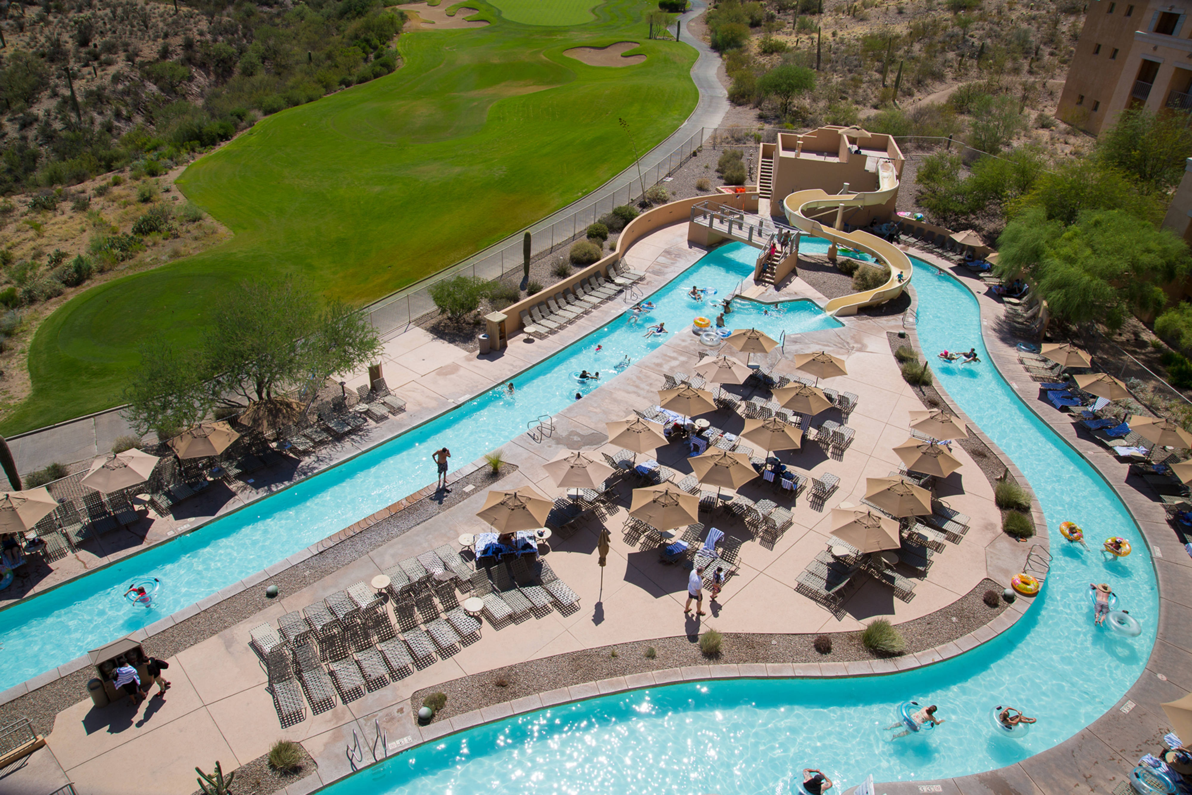 Lazy River Guest Room View