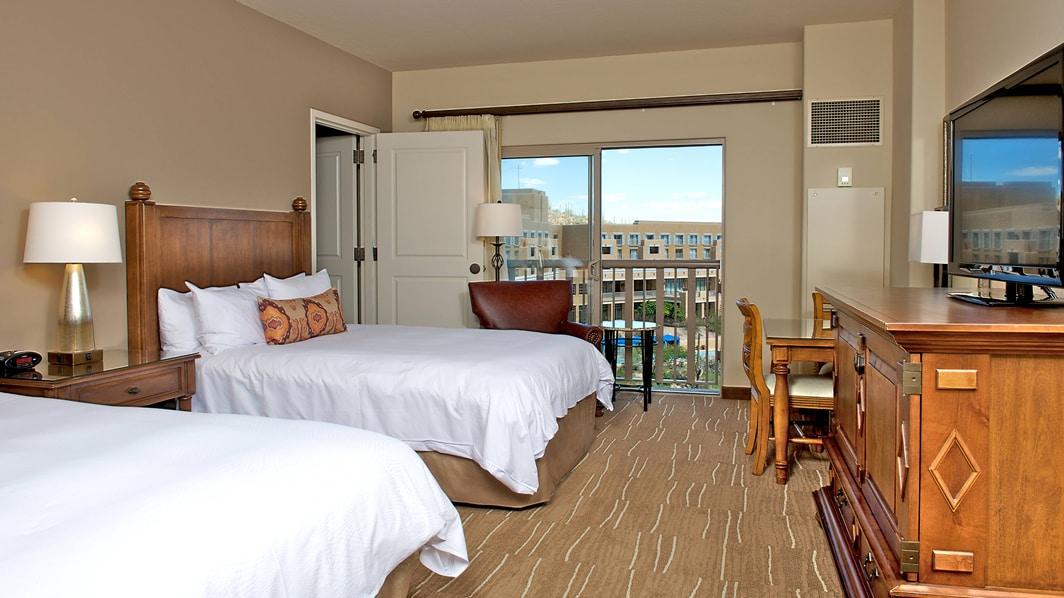 Suite de lujo del JW Marriott en Tucson