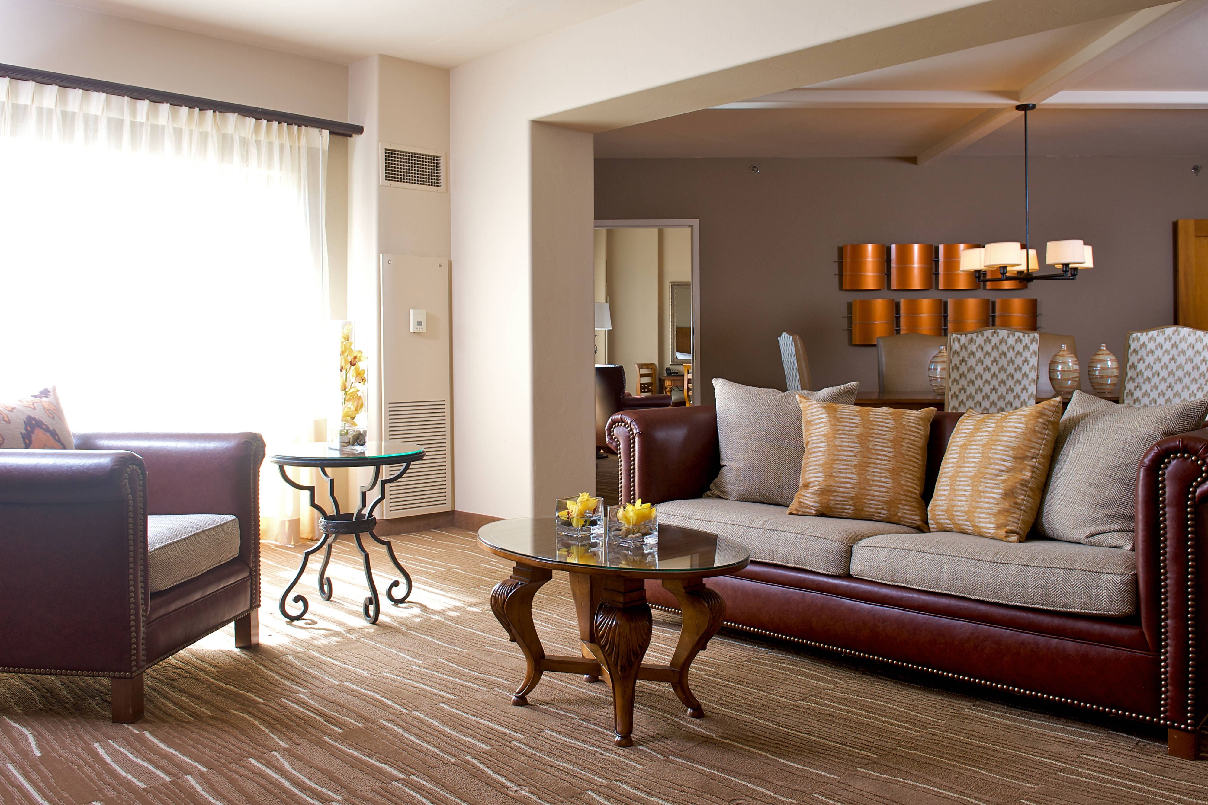Luxury Suite – Living Area