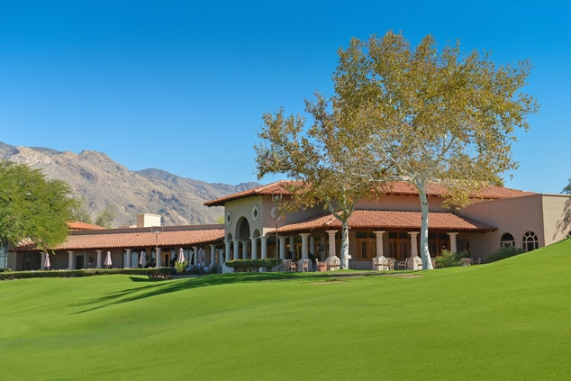 Country Club Showing Mountains and Course