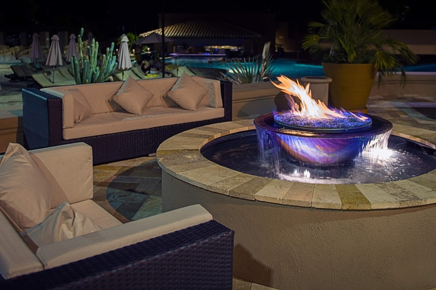 Exterior Patio & Firepits