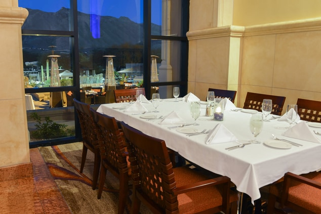 Large Table with Mountain View