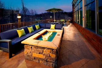 Outdoor Firepit Courtyard Knoxville West