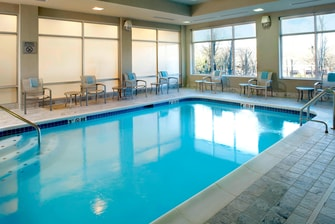 Indoor Pool Courtytard Knoxville West
