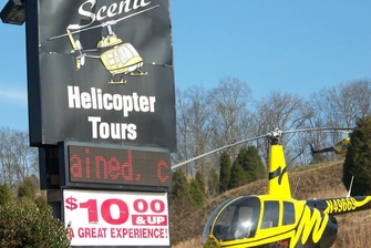 Smoky Mountain Helicopter Tour