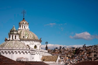 Casco antiguo de Quito